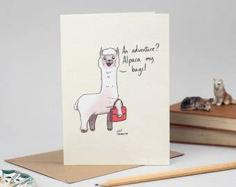 Alpaca my Bags by Neil Slorance