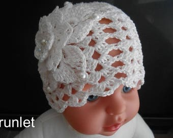 Girls Christening Bonnets