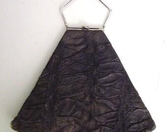 art deco purse, triangle shape