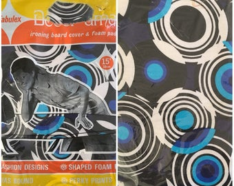 Vintage NOS psychedelic IRONING BOARD cover deadstock