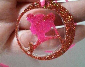 sailor moon resin pendant