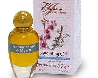 Myrrh and Frankincense Anointing oil - Scent of Jerusalem (.32 fl. oz.)