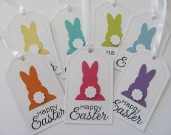 Easter gift tags etsy easter tags happy easter favor tags easter gift tags easter bunny tags negle Choice Image