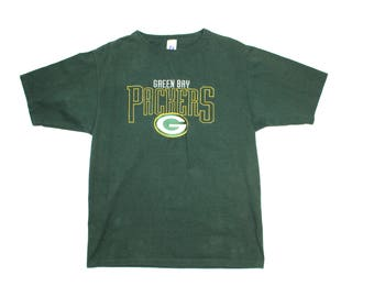 Vintage NFL Greenbay Packers Embroidered T-shirt