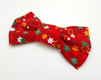 Dog Bowtie - Christmas Red Star