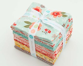 Riley Blake - Sweet Prairie by Sedef Imer Fat Eighth Bundle 21 count - quilt, quilting, calico