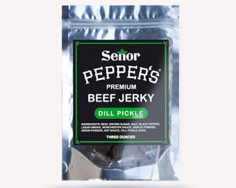 Dill Pickle Beef Jerky