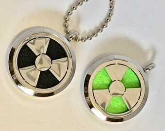 Superhero Diffuser Necklace - Men's Gift - Superhero Essential Oil Necklace - Nuclear