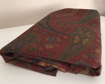 Clarence House Oberoi Paisley Fabric Yardage Made in Italy ~ Designer Fabric 4.7 yards