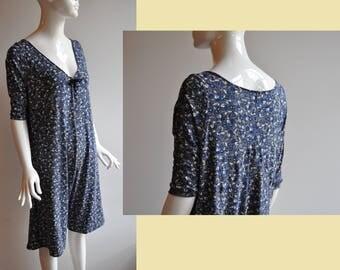 36-40 comfortable Jersey jumpsuit flower stretchy Léger