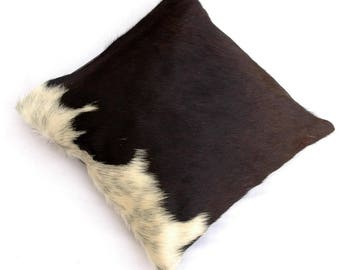 Natural Cowhide Luxurious Hair On Cushion/ Pillow Cover (15''x 15'') A73