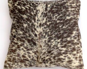 Natural Cowhide Luxurious Hair On Cushion/ Pillow Cover (15''x 15'') A111