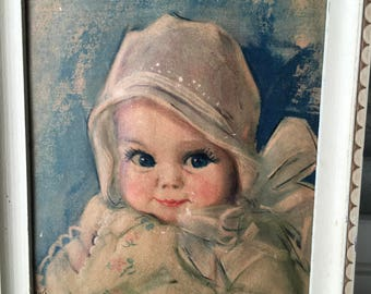 Vintage Baby Picture  by Artograph