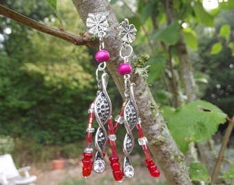 Earrings dangle 5cm height