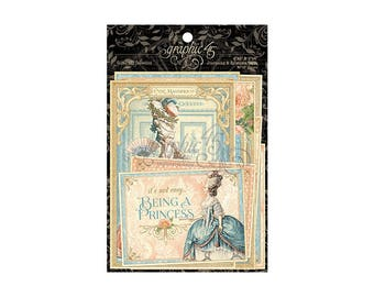 Graphic 45 Gilded Lilly Collection Ephemera Package