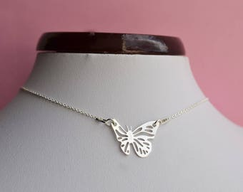 "Butterfly Silver 925 ""necklace"""