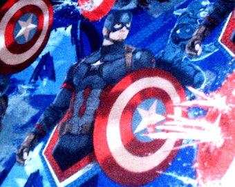 Captain America Superhero Fleece Throw