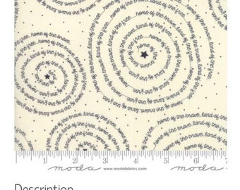 Freedom Brave Vanilla by Sweetwater   | Modern Fabric | Low Volume Fabric