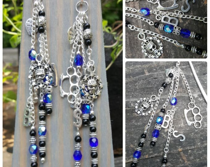 Beaded Bookmark: Beyond Pain Themed
