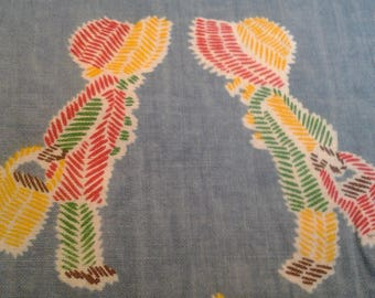 Vintage Hollie Hobby Fabric