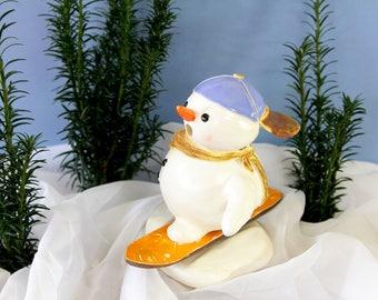 """Snowman, figure """"Kalle Snowboard"""""""