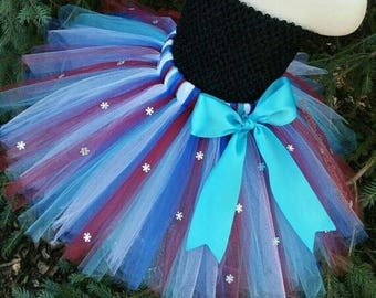 Anna Inspired Tutu Skirt, TUTU SKIRT ONLY, Anna Tutu, Princess Anna Costume, Princess Anna Skirt, Anna Birthday, Anna Party, Frozen Tutu