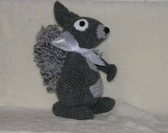 "Steve Squirrel - 11"" tall Stuffed Squirrel"