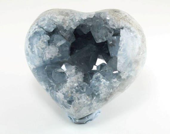 Celestite Heart, M-1491