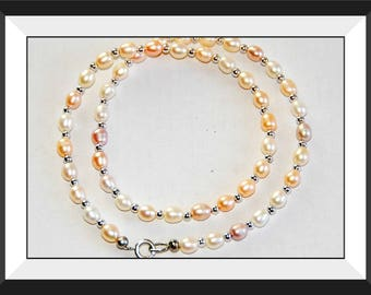 Multicolor Freshwater Pearl Necklace