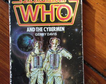 Dr Who and the Cybermen novelization by Gerry Davis