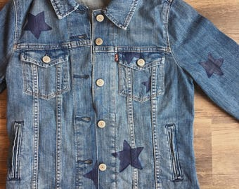 Custom Star Denim Jacket
