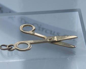 9ct 375 Gold Scissors