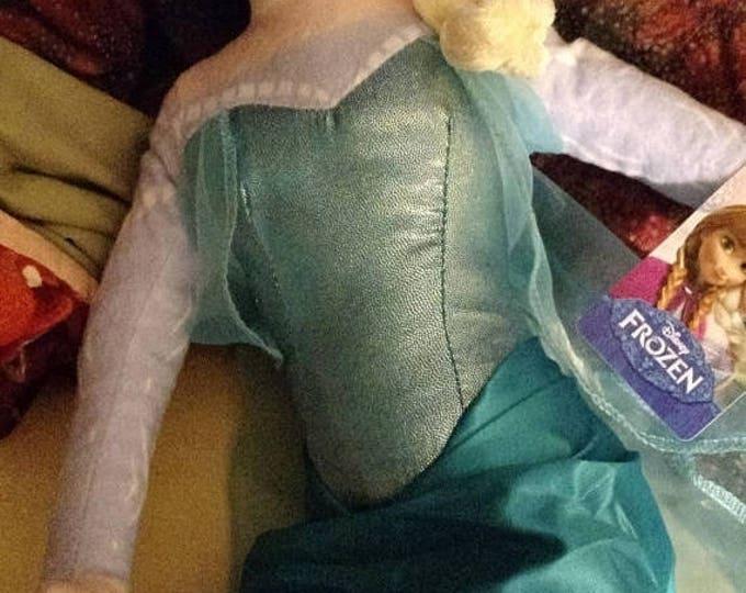 Retrocon Sale - 29 inch Plush Elsa Doll - Frozen