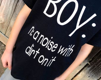 Boy Definition Tee/onesie