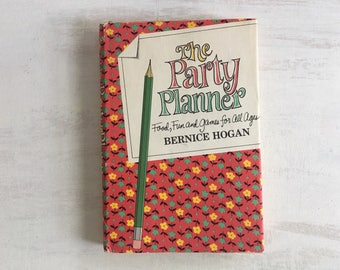 Vintage 1967 Party Planner Food, Fun & Games Book