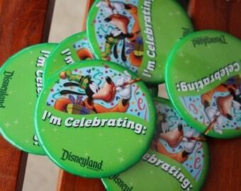 I'm Celebrating Buttons