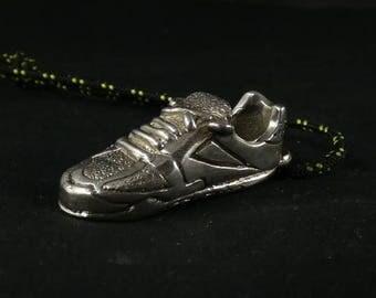 Crossfit shoe silver/bronze/brass keychein or pendant