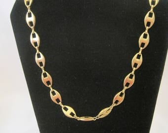 """36"""" gold tone necklace"""