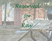 Reserved for Kay