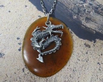Dragon necklace CCS25