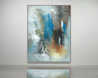 Contemporary  abstract  original acrylic painting