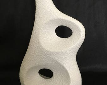 Beautiflly Organic and Sculptural Sgrafo Modern 'Koralle' vase by Peter Muller (1968)