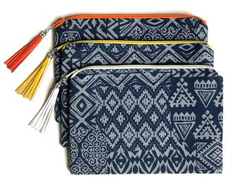 Everyday Clutch African print