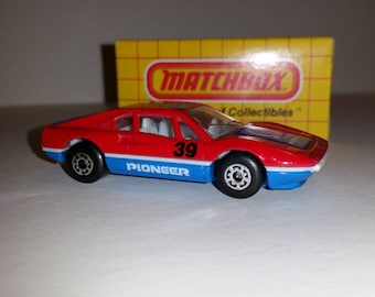 Vintage Matchbox Spots Car Ferrari 308