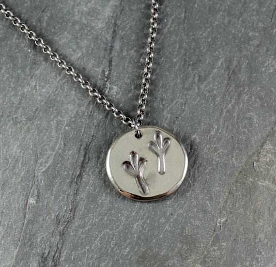 Tracks ~ Artisan Handcrafted ~Pendant Necklace