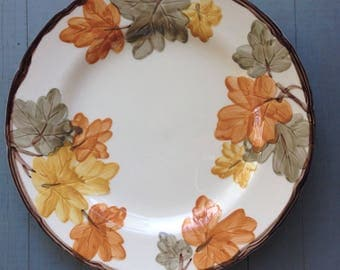 "Franciscan Ware October Dinner 10"" Plate"