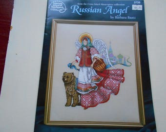 Russian Angel cross stitch