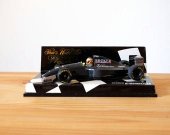 Sauber Mercedes C 13, Minichamps Matchbox Car, Scale 1:43 Miniature Car, Die Cast Car, Model Car, Pauls Model Art, Mercedes Matchbox,