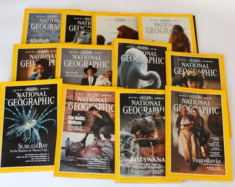 1990, National Geographic Magazine, Nat Geo 1990, Nat Geo Magazine vol 177, National Geographic Collection, National Geographic, Nat Geo