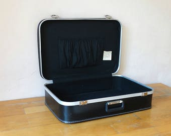 Black Suitcase, Old Valise, Black Luggage, Suitcase Table, Suitcase Trunk, Travel Trunk, Luggage Bag, Cardboard Suitcase, Leather Suitcase,